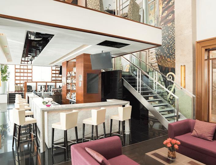 Amber´s Bar v Sheraton Bratislava Hotel