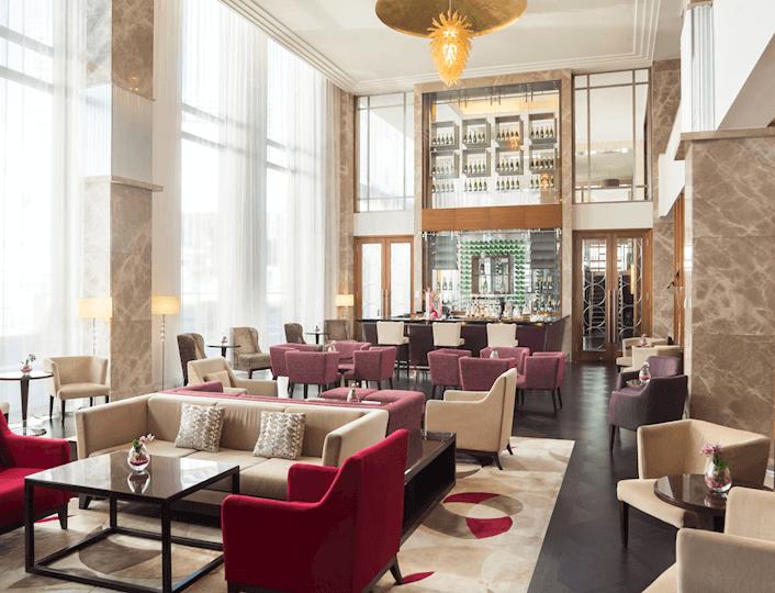 Port Wilson Lobby Lounge v Sheraton Bratislava Hotel