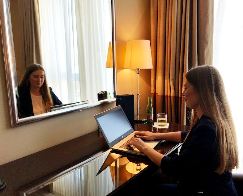 Home office @ Sheraton Bratislava