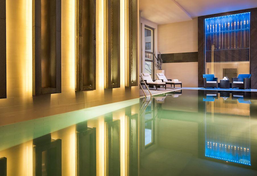 ZION SPA Premium ponúka vyhrievaný bazén, fínsku a parnú saunu a oddychovú miestnosť Deep Relaxation